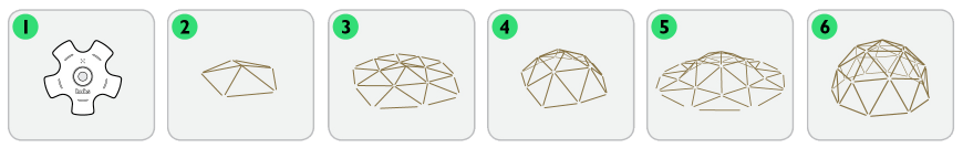 Hubs DIY Garden Kit Quick | Geodesic Domes | Tiny Life Supply.png