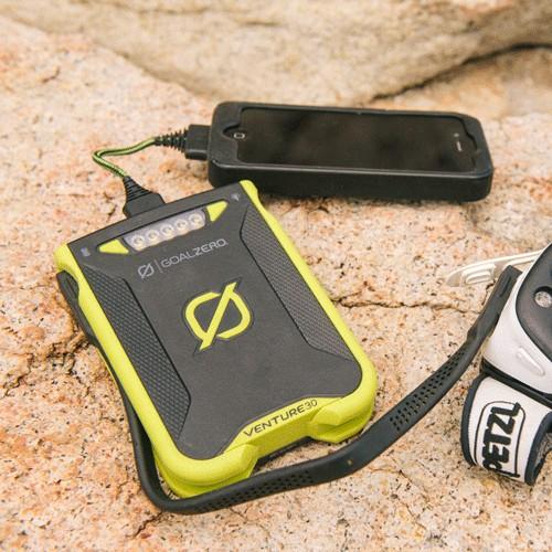Goal Zero Venture 30 Power Bank + 7 Nomad Plus Solar Kit Gal 4 l Solar Kits l Tiny Life Supply.jpg