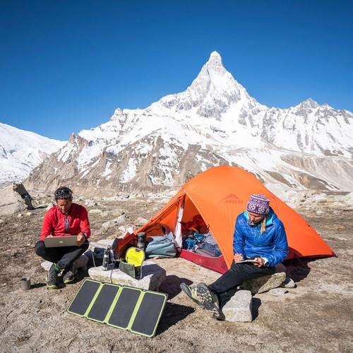 Goal Zero Sherpa 100 Power Bank + 28 Nomad Plus Solar Kit Gal 5 l Solar Kits l Tiny Life Supply.jpg