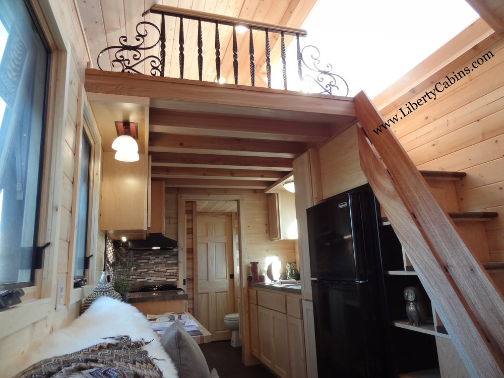 Liberty Cabins inside l Tiny Loft l Tiny Life Supply.jpg