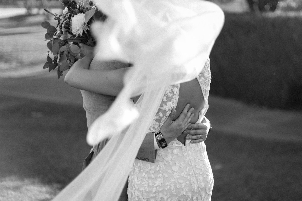 She wore her grandmother's veil and it was simply perfection.