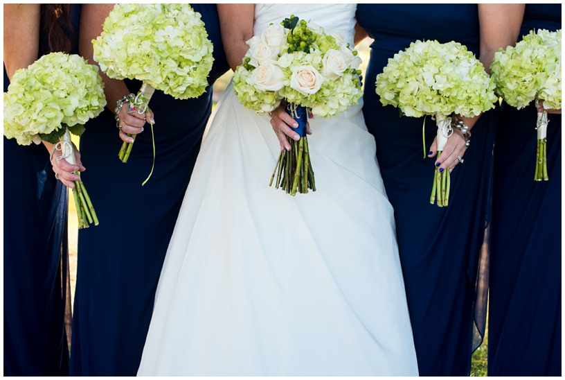 Wedding bouquets by Juliet Le Fleur at Eagle Mountain Golf Club in Fountain Hills, Arizona.