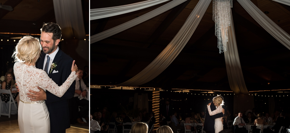First dance with the bride and groom.