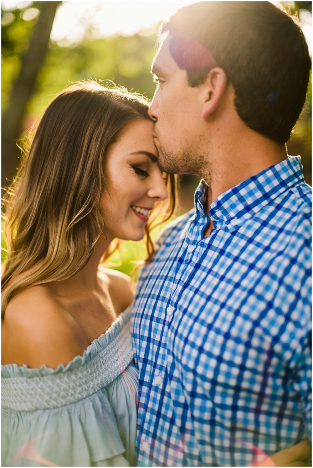 Summer Sedona Engagement Photos at Tlaquepaque and Oak Creek Canyon.