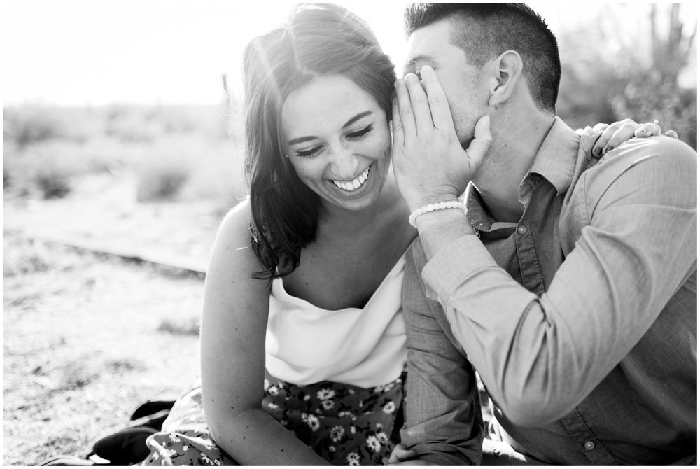 Desert Mountain Engagement Photos at McDowell Mountain in Scottsdale, Arizona