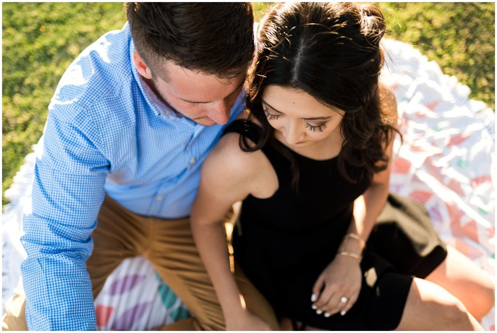 Fun and Colorful Engagement Photos at Scottsdale Civic Center in Scottsdale, Arizona