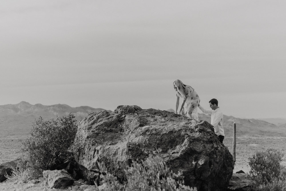 Engagement Photos at Superstition Mountains
