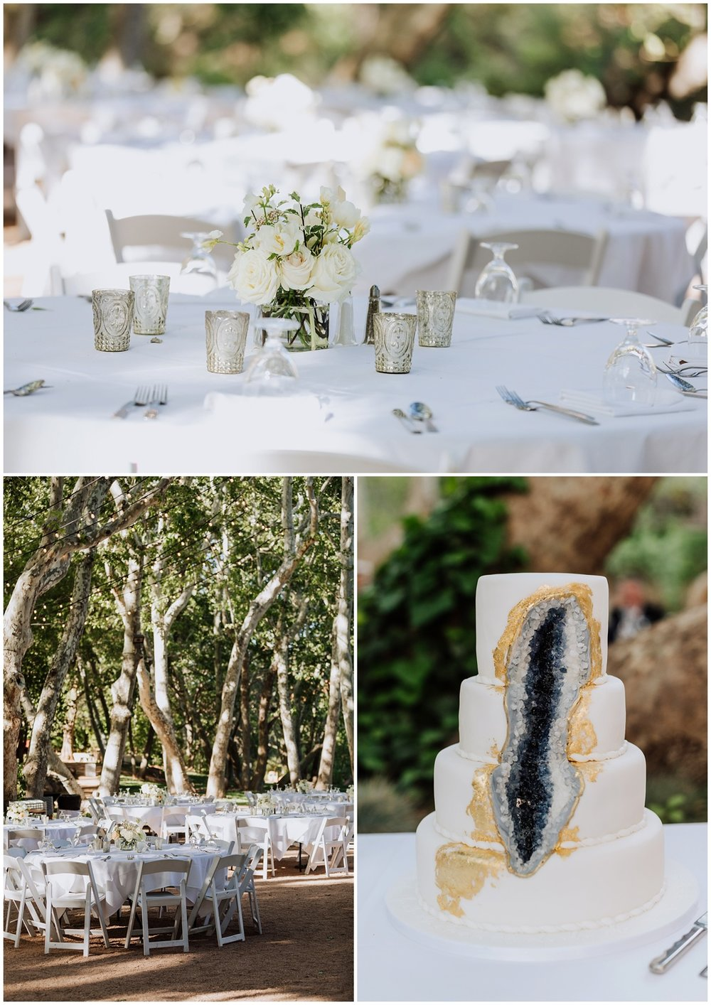 Outdoor Wedding Reception at Oak Creek Canyon in Sedona, Arizona