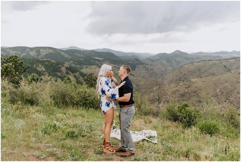 Surprise Colorado Mountain Top Proposal
