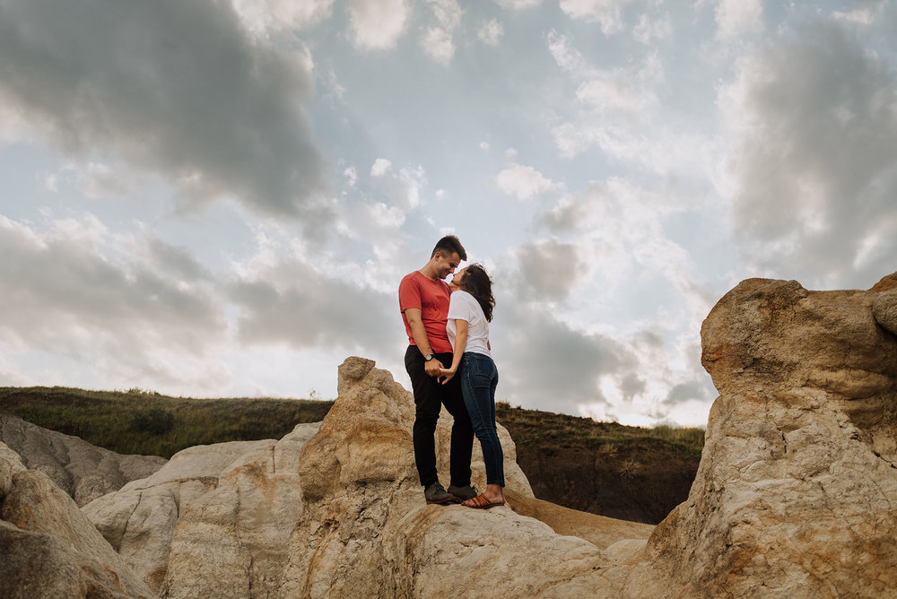 Engagement Photos at the Paint Mines