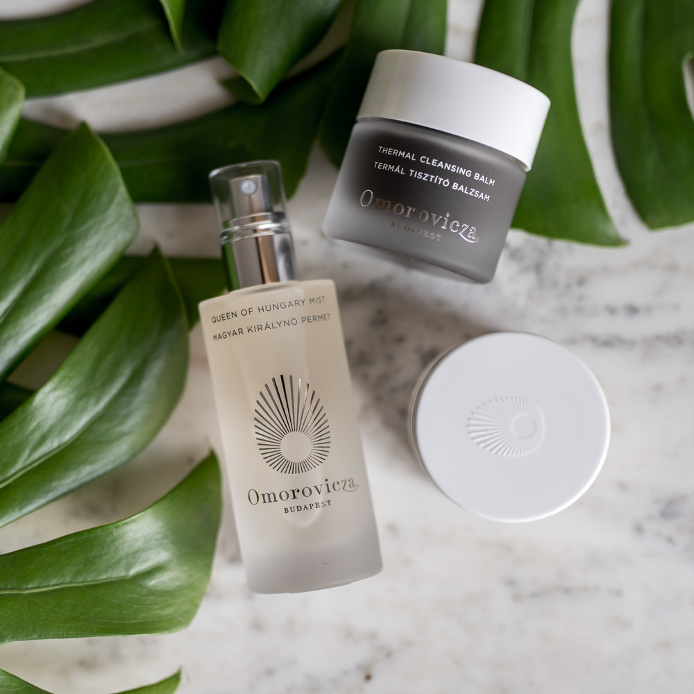 Thermal Cleansing Balm & Queen of Hungary Mist by  Omorovicza