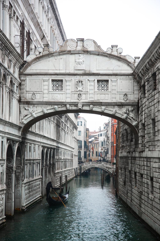 Bridge of Sigh, Venice, Italy