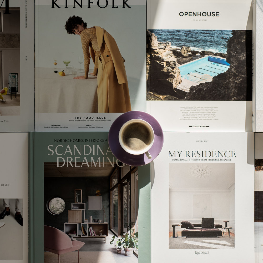 Magazines, Let It In, Inspirationholic