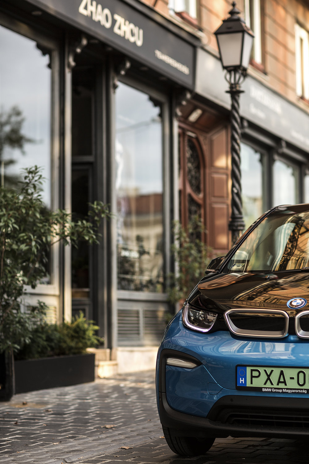 On The Road With BMW, i3, Budapest