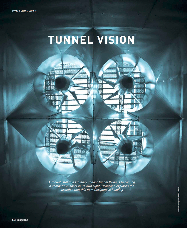 Tunnel Vision   Dropzone Magazine  April 2014