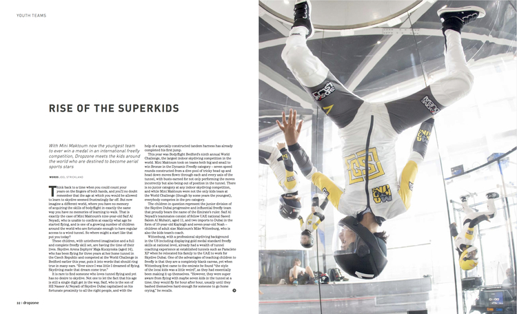 Superkids   Dropzone Magazine  June 2014