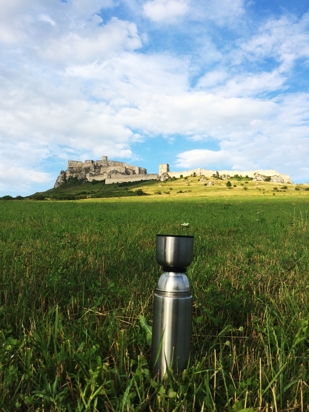 Spiš Castle plus tea.