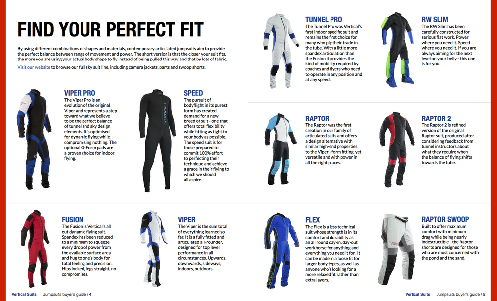 vertical suits guide