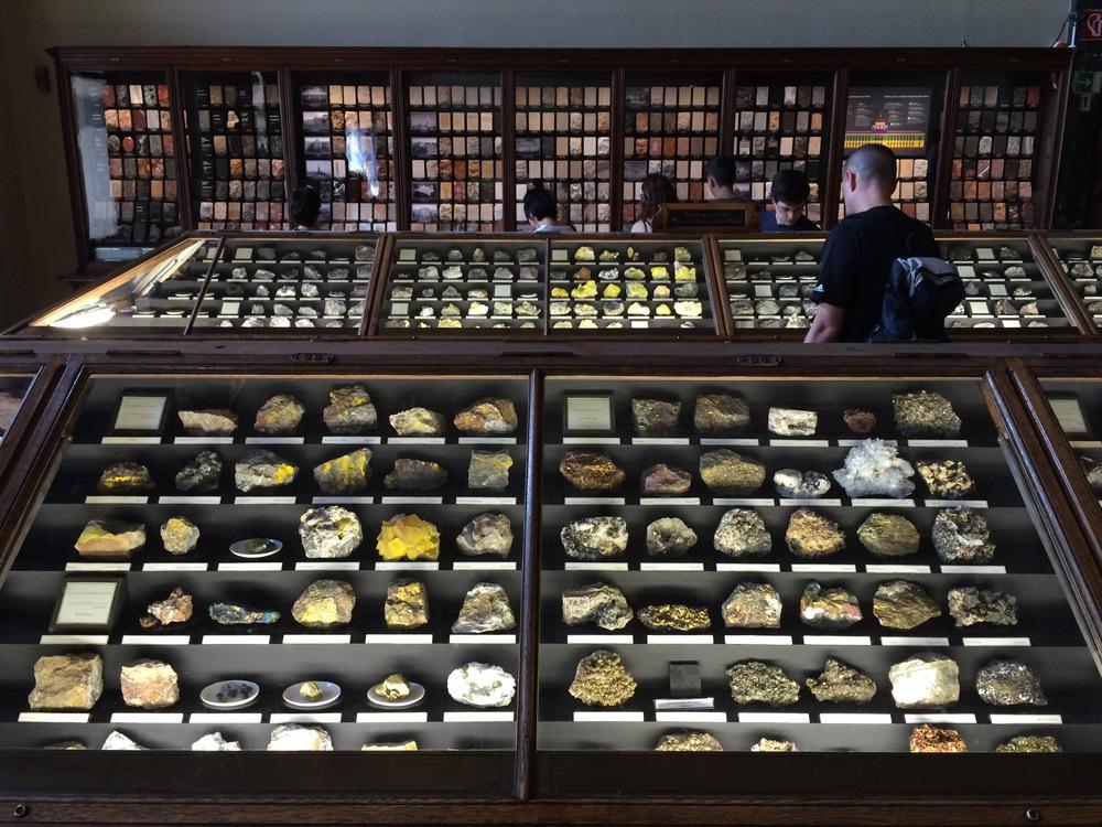 geology room