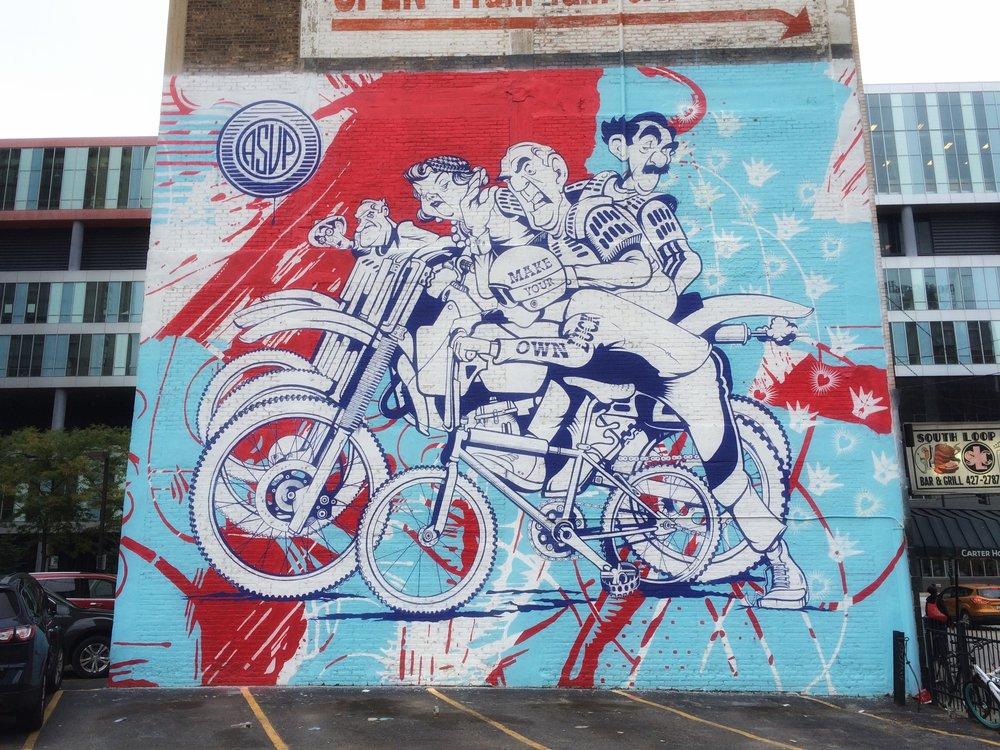 columbia college street art