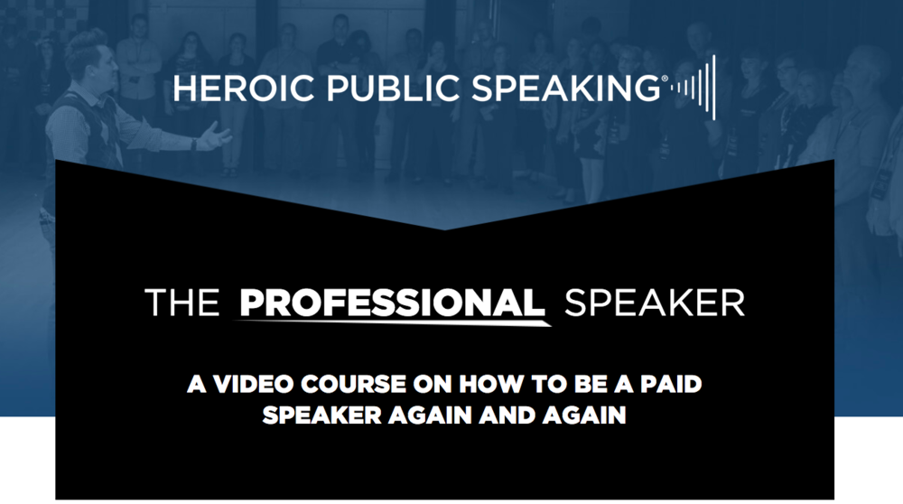 Ready to book more Stages?  - Learn the EXACT steps you can take to get build a powerful brand to grow your speaking or training business in the course including special appearances by Michael Port.