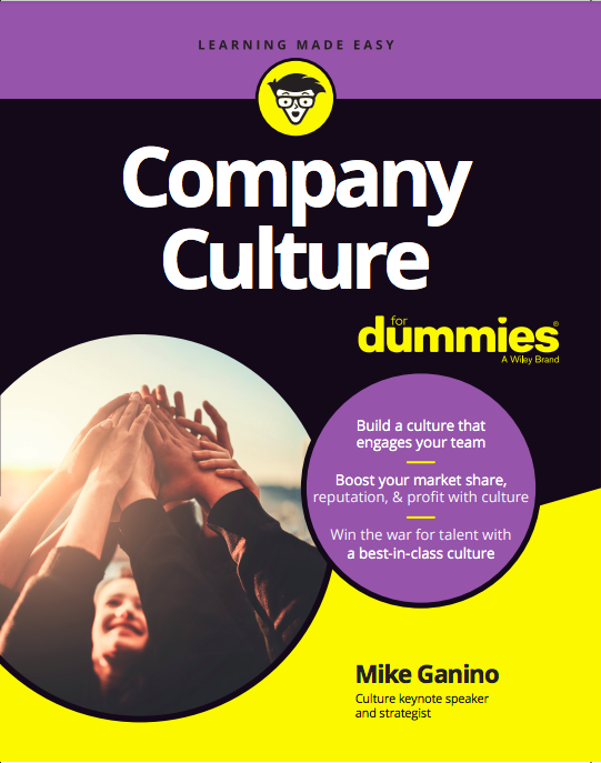 Company Culture For Dummies --  May 8, 2018 - Organizations around the world are fighting every day for the best employees, the most loyal customers, and the most favorable brand reputation. Central to each of these targets is a great company culture, just like those at places like Google, Wegman's and Southwest Airlines. Packed with exercises and examples, this book will help you define your mission and vision, become an inspiring leader, develop a strategy for attracting great talent, boost collaboration and communications, and create an engaged workforce. This is the book you want to keep close as you define, expand, and enhance your unique company culture. Become the kind of leader that inspires, shapes, and boosts company cultureUse company culture to increase sales, profit margins, and brand reputationEncourage a collaborative, feedback-rich culture Retain and develop employees while attracting top talent to your team