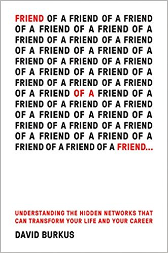 David Burkus Friend of a Friend Book