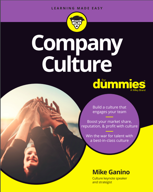 Mike Ganino Company Culture for Dummies Book