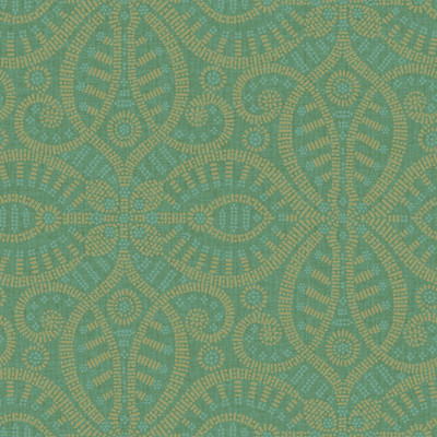Global Chic Floral and Botanical 3D Embossed Wallpaper - York Wallcoverings - Dark Green.jpg