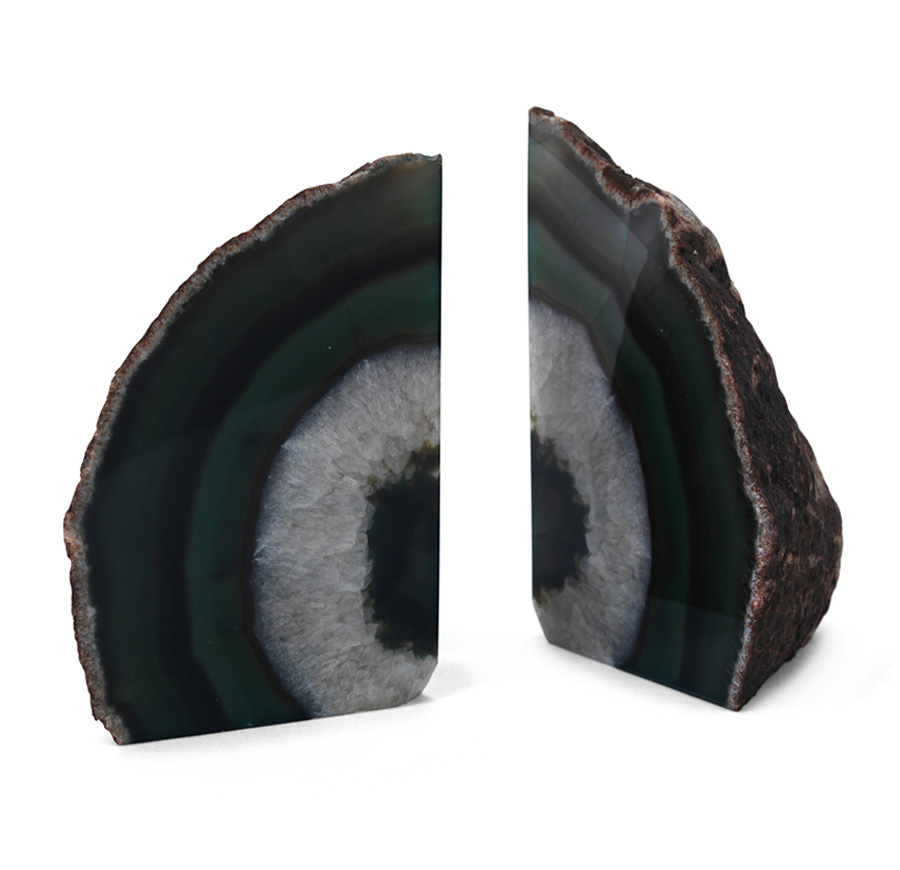 Agate Emerald Large Bookends - MItchell Gold + Bob Williams.jpg