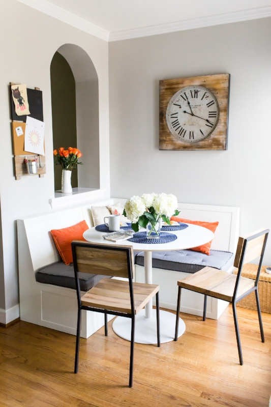 Dining Nook Offers Cozy Setting for Meals & More