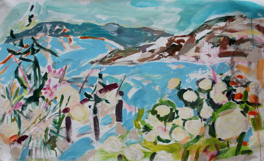 """That Place!  54"""" X 34"""" Sold"""