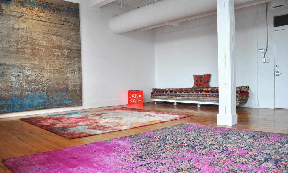 TOTEM + JAN KATH - We are excited to announce that we are now working with and representing JAN KATH in Toronto. JAN KATH is one of the most influential rug designers in the world today. To learn more about the JAN KATH collection > CLICK HERE