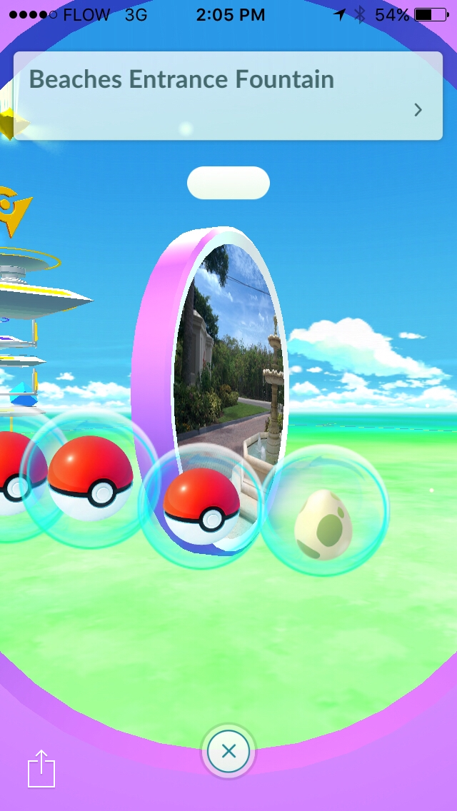 Pokemon checking into Beaches Resort - Image by JessB2387