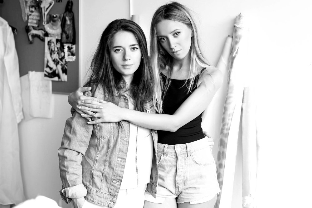 The founder sisters Dana & Violette in their studio