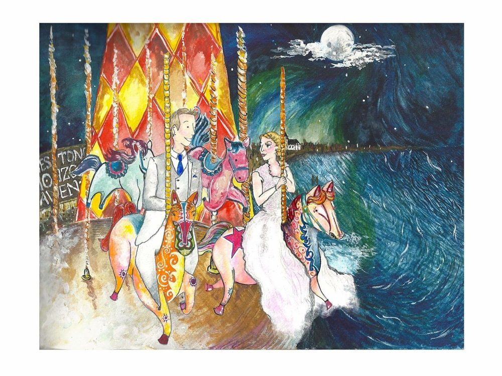 A wedding illustration gift by cardiff artist amanda bathory.jpg
