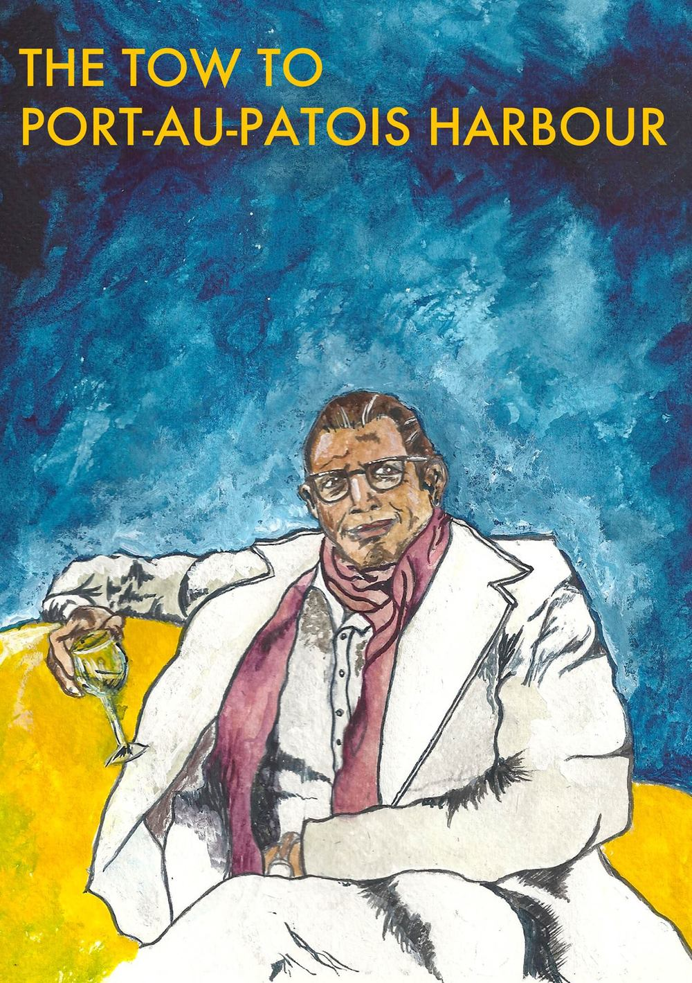 Amanda Bathory Jeff Goldblum illustration for wedding table plans.jpg