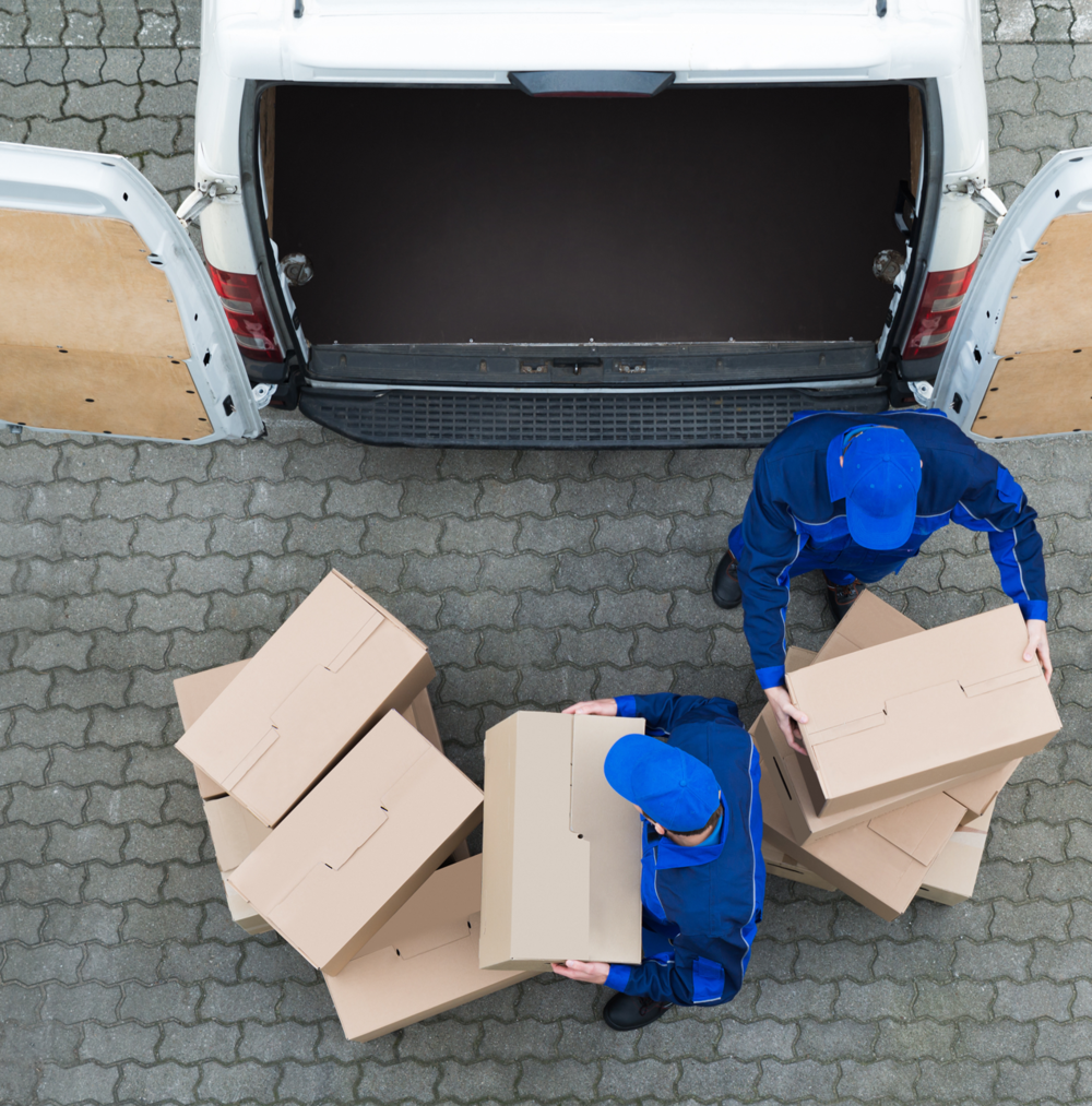 Offering an in vehicle delivery service to your customers. -