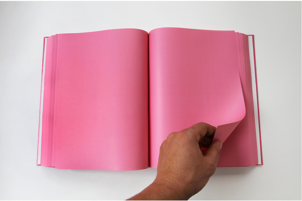 Cookbook  2013 Baker-Miller Pink printed book (800 pages), edition of 3 11.75 x 8.25 x 2 inches
