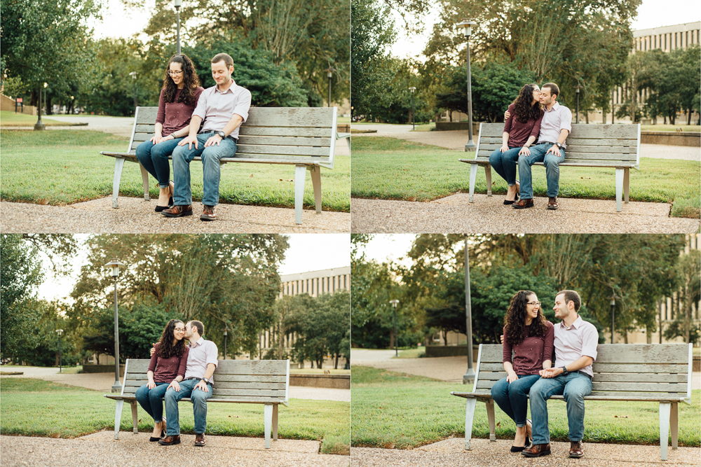 """I'm pretty sure it was this one"" - Jonna       ""No it was this one"" -Evan       *lol* -me  After deciding on what bench it was, Jonna and Evan sat down at the same, lets say bench area ;), where they first said ""I like you"" to one another. I was low key melting inside! 😭 I had no idea they would take me to the spot of such a historic moment in their relationship! The first shot where they are both looking at the ground as they reenact that nerve-racking but lovely memory is my favorite."