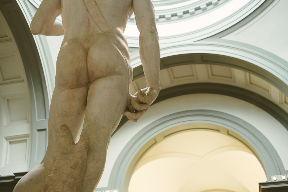 People focus too much on David's front, I was much more amazed at this view.