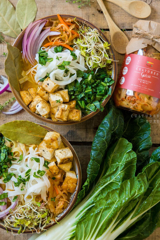 Kimchi Miso Soup