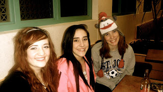 Alex, Ilene, Hannah. Cysters forever.