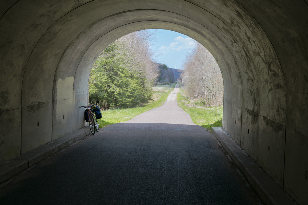 Tunnel and Bike