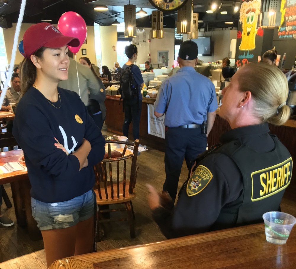 Coffee with a Cop CwC at Stanford1.JPG