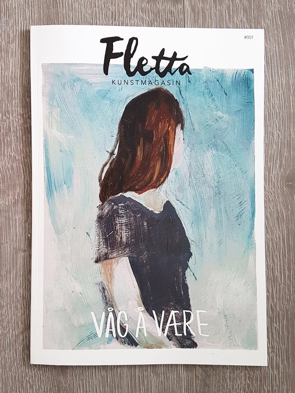 """Fletta #001 - """"Våg å være"""""""