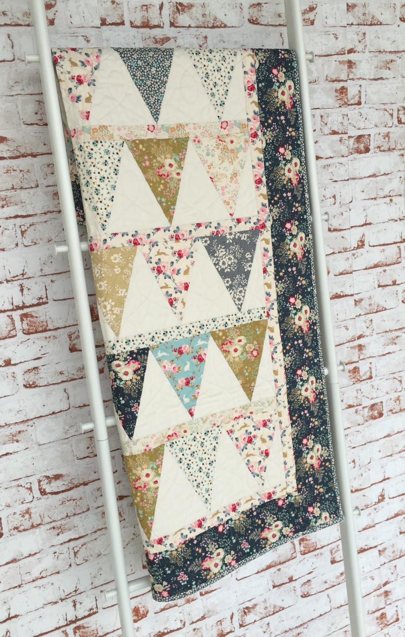 A gorgeous sample of the Memory Lane Banner kit, picture courtesy of Tilda Australia (Two Green Zebras)