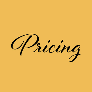 Robin Radke Photography // Pricing Guide for Wedding Photography and Portrait Photography