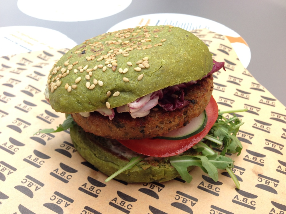 Dutch Weed Burger @ Netherlands food truck