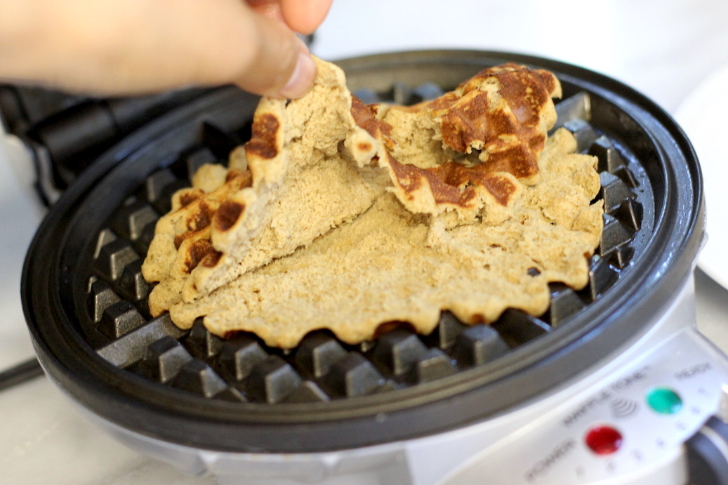 Protein Waffle Parfait